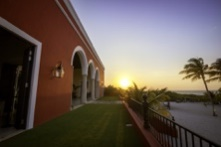 Hacienda, Merida, Yucatan, Mexico, Maya, Palacio, Azul