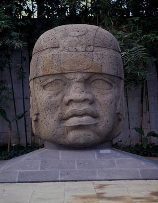 Cabeza Olmeca, museo la Venta | Mediateca INAH