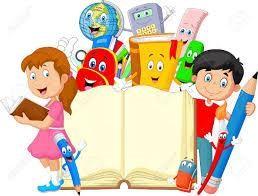 Niño De Dibujos Animados Con Efectos De Escritorio De Dibujos Animados Ilustraciones Vectoriales, Clip Art Vectorizado Libre De Derechos. Image 45092662.