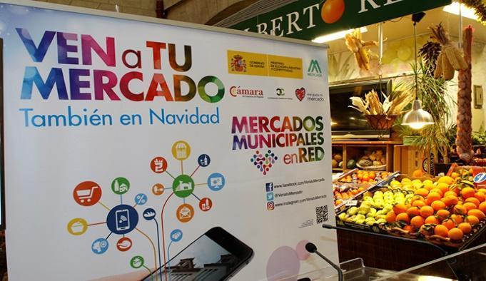 Campaña para impulsar las ventas de los Mercados Municipales
