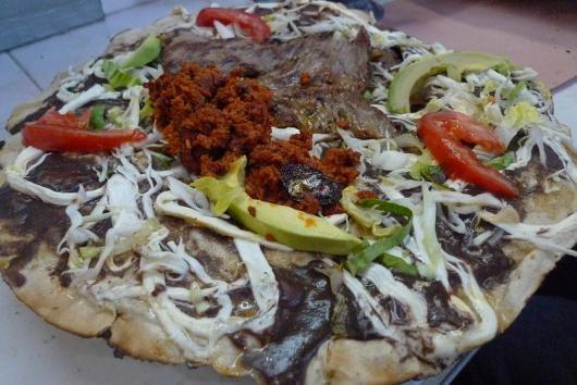 Delicias del sur de México.