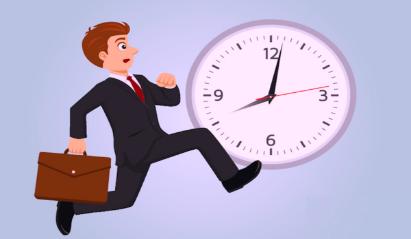 Qué transmites siendo impuntual en las reuniones?