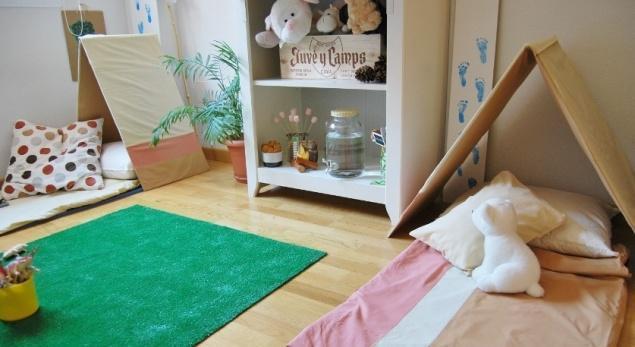 Acampar dentro de casa: un plan divertido en verano | House Hunting