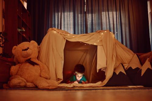 Campamento en casa con tus hijos: todo l... | Canasta Rosa